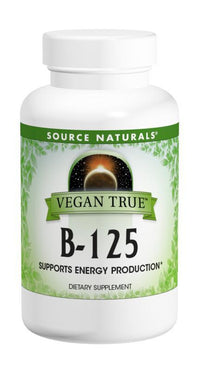 Buy Vegan True® B-Complex 125, 60 tablet at Herbal Bless Supplement Store