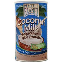 Buy VegLife, Coconut Milk + Sprouted Rice Protein, Creamy Vanilla 448 grams at Herbal Bless Supplement Store