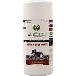 Buy VetriScience Vetri Repel Wipes, 60 units at Herbal Bless Supplement Store