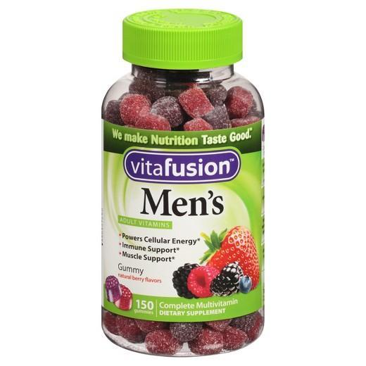 Buy Vitafusion™ Men´s Natural Fruit Flavored Multivitamin - Gummies 150 at Herbal Bless Supplement Store