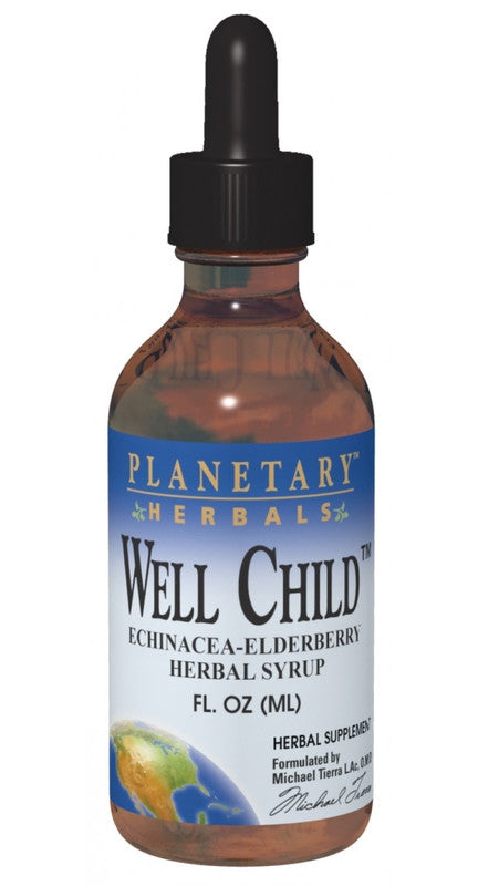 Buy Well Child™ Echinacea-Elderberry Herbal Syrup, 4 oz at Herbal Bless Supplement Store