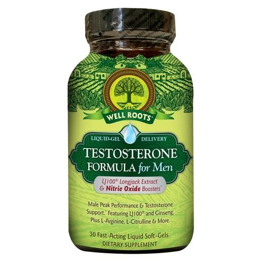 Buy Well Roots, Men's Testosterone Formula Softgels - 30 Count at Herbal Bless Supplement Store