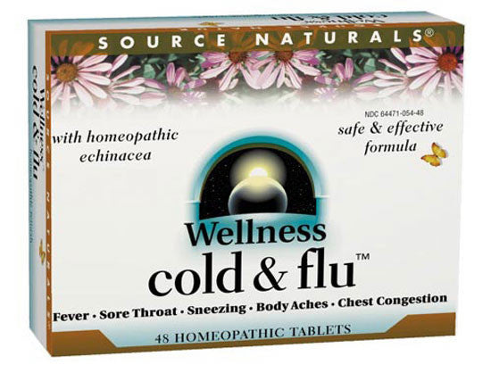 Buy Wellness Cold and Flu™ Homeopathic Bio-Aligned™, 48 tablet at Herbal Bless Supplement Store