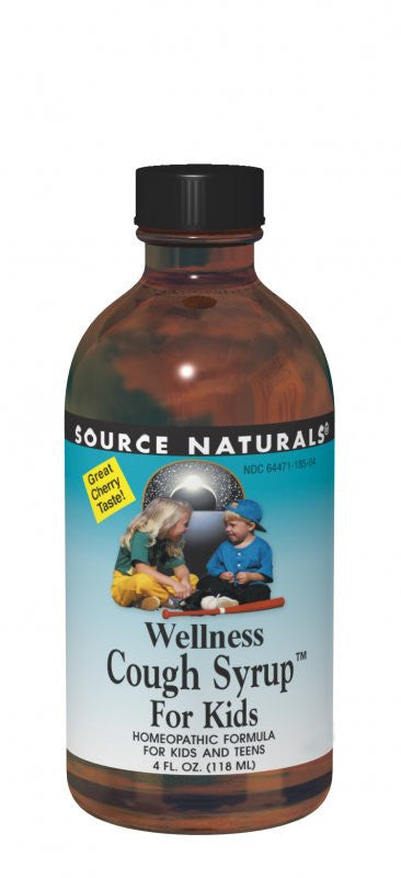 Buy Wellness Cough Syrup™ for Kids, 4 oz at Herbal Bless Supplement Store