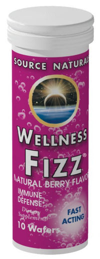 Buy Wellness Fizz® Tangerine Flavor, 10 wafer at Herbal Bless Supplement Store
