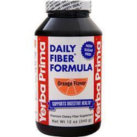 Buy Yerba Prima, Daily Fiber Powder, Orange 16 oz at Herbal Bless Supplement Store