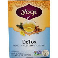 Buy Yogi, DeTox Healthy Cleansing Formula Tea, 29 grams at Herbal Bless Supplement Store