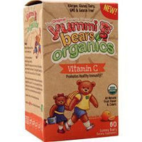 Buy Yummi Bears, Organics - Vitamin C, Orange 60 bears at Herbal Bless Supplement Store