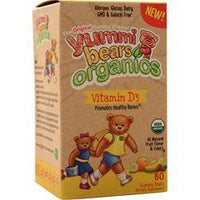 Buy Yummi Bears, Organics - Vitamin D3, Tropical Fruit Punch 60 bears at Herbal Bless Supplement Store