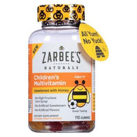 Buy Zarbee's Natural, Kids' Honey & Fruit Flavored Multivitamin - Gummies 110 at Herbal Bless Supplement Store