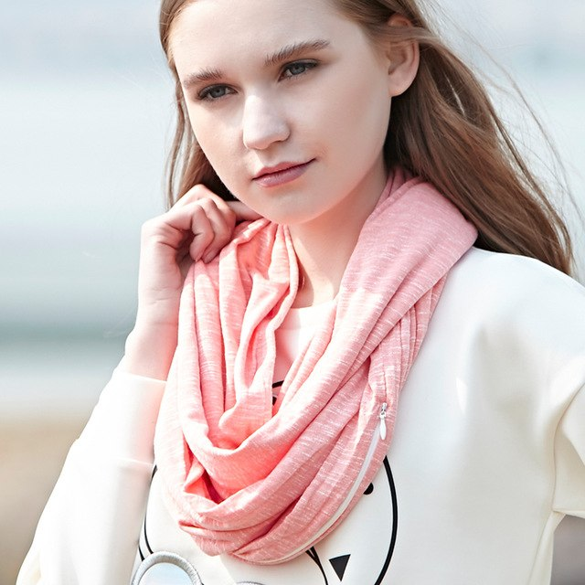 iScarfþ Multi-Way Infinity Scarf with Pocket