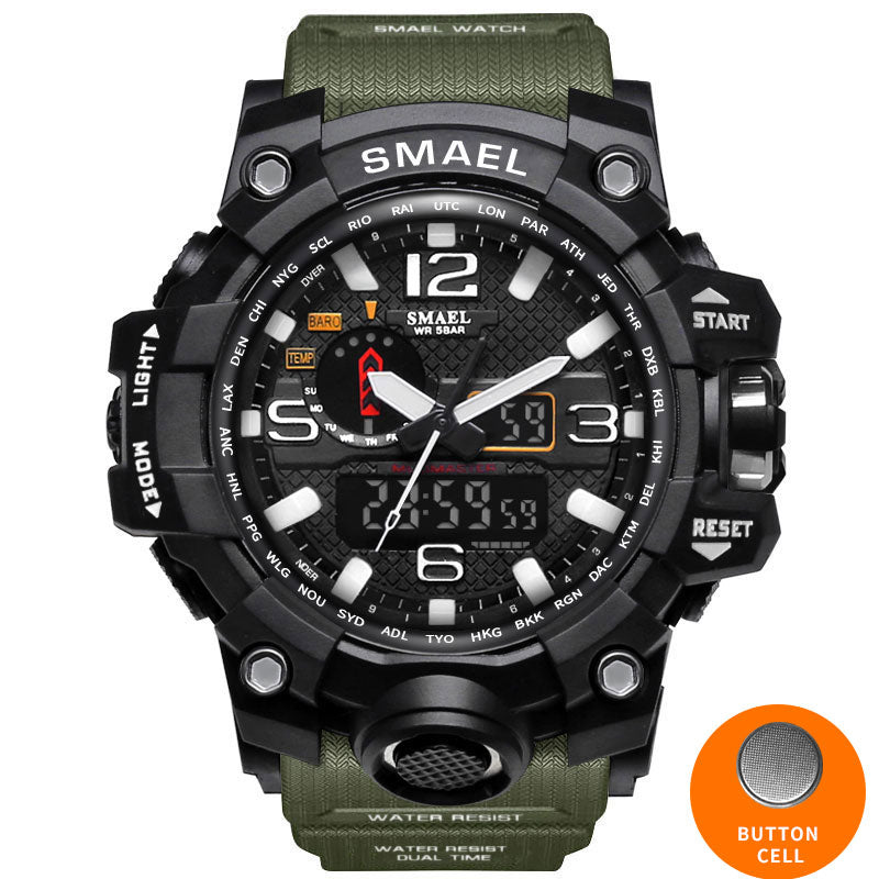 smx warrior ultimate shock resistant digital analog military sport watch