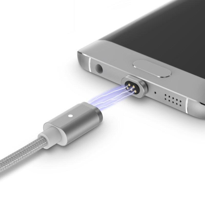Smart Magnetic Fast Charging Cable for iPhone & Android