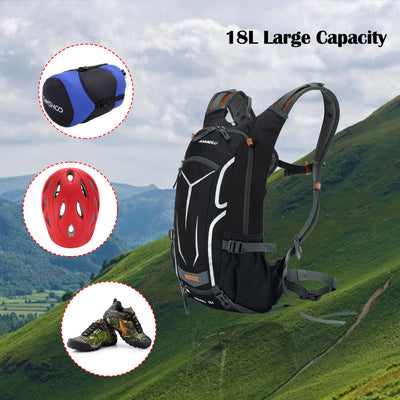 18L Premium Outdoor Bicycle Waterproof Backpack