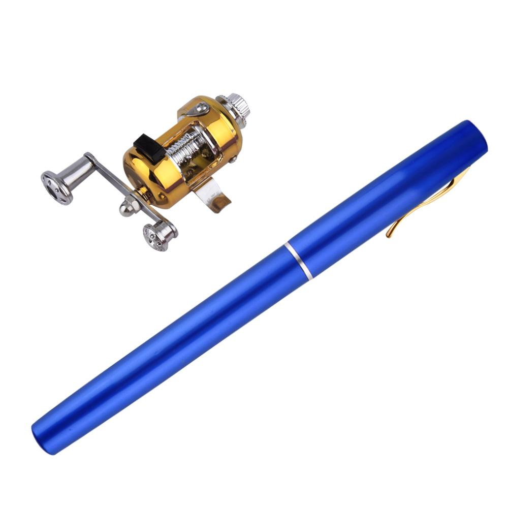Vortex™ Portable Pen Fishing Rod Reel