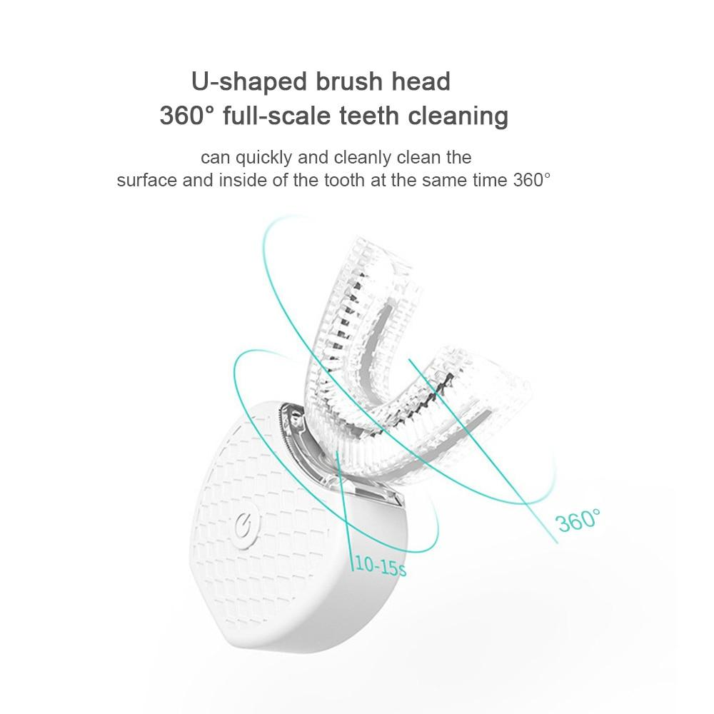 Electric Toothbrush Full-Automatic Variable-Frequency ultrasonic Teeth Cold Light Whitening Device