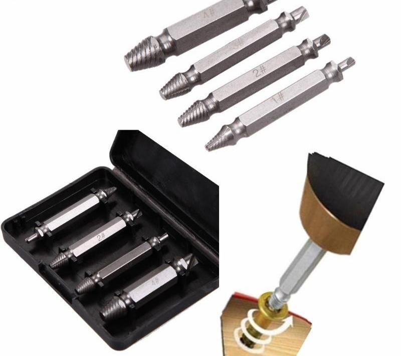 Double Sided Screw Extractor  Set