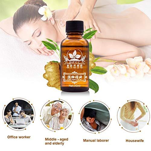Lymphatic Therapy Drainage Ginger Oil