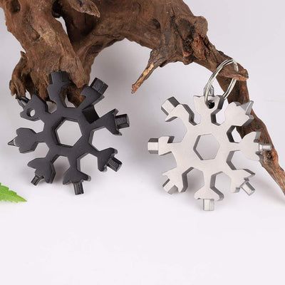 18-in-1 Snowflake Stainless Steel Multi-Tool