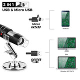 LED Digital USB Microscope  Magnifier