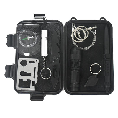 9 in 1 Survival Military Carry Kit