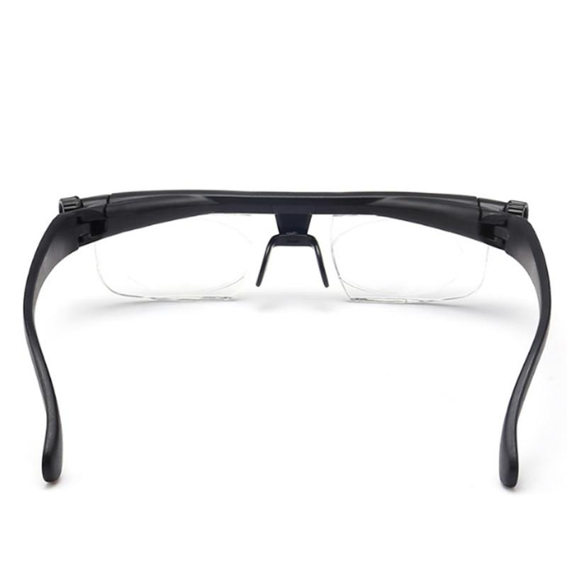 Precision Adjustable Focus Reading Glasses with Variable Focus for Men and Women