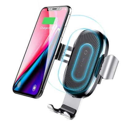 GSmart™ Gravity Auto Locking Wireless Fast Charging Phone Holder