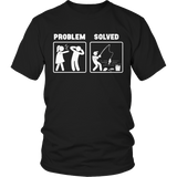 Problem Solved Fishing T-Shirt Long Sleeve Hoodie