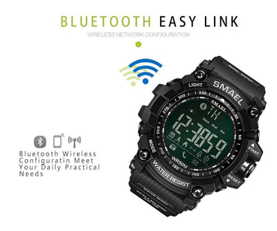 SMX Warrior Smart™ Shock Resistant Digital Military Sport Smart Watch