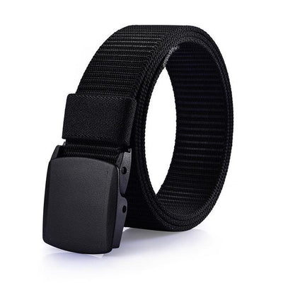 Casual Military Grade Polymer Buckle Canvas Belt