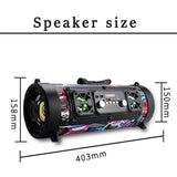 Fashion and Portable Big Power Wireless Speaker