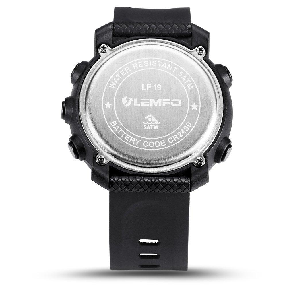 LF19 Python™ Android & IOS Compatible Military Sport Smartwatch