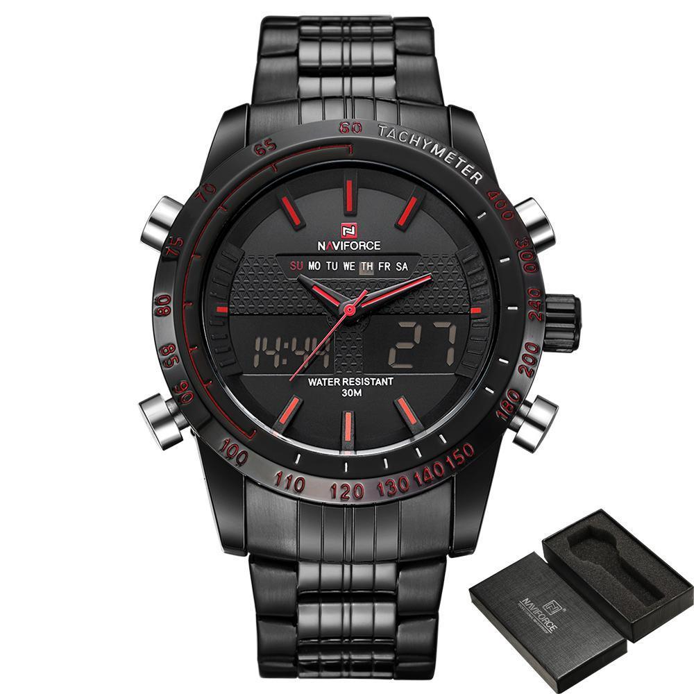 NVX Mach II™ Dual Time Military Sport Watch