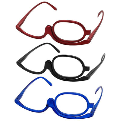 Folding Eyeglasses for Makeup