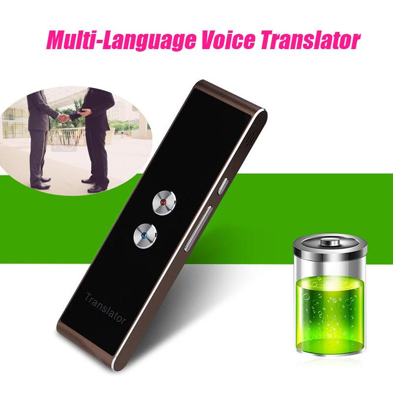 Portable Smart Two-Way Real Time Multi-Language Voice Translator