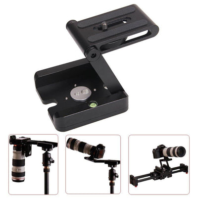 Professional Camera Flex Tripod Z Pan BRACKET Head Solution for Photography Studio