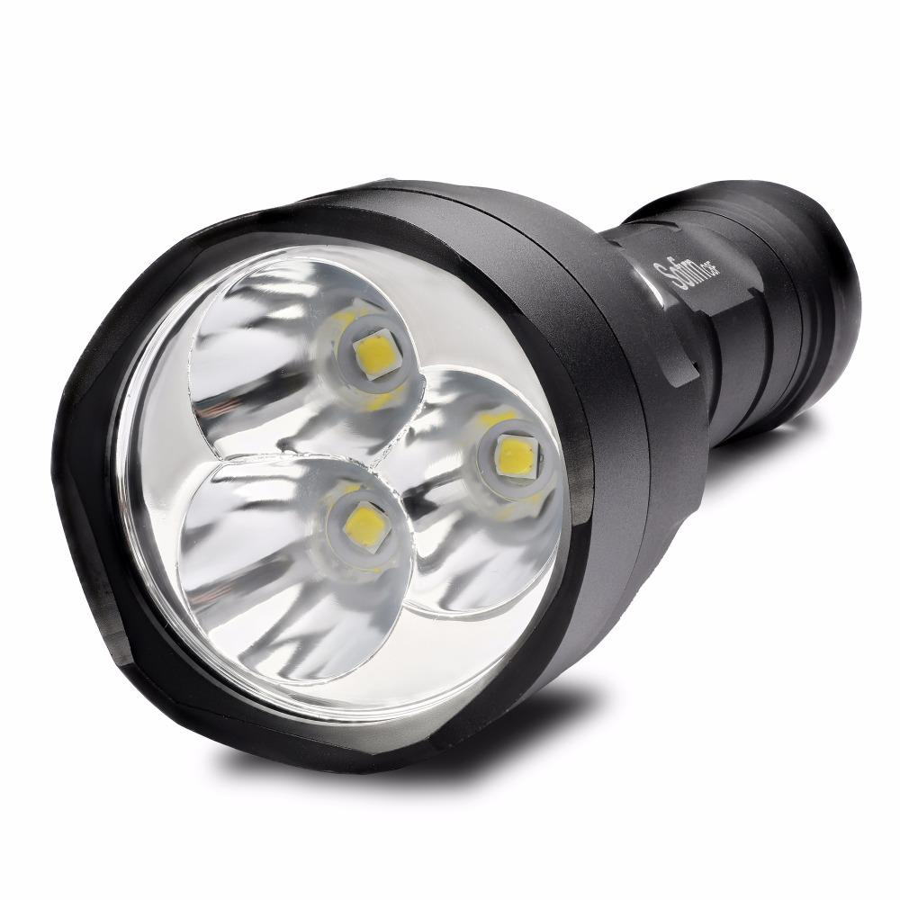 MegaLight™ C8F 3000 Lumen Tactical LED Flashlight