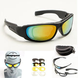 TX7 Polarized Tactical Military Shatterproof Goggles