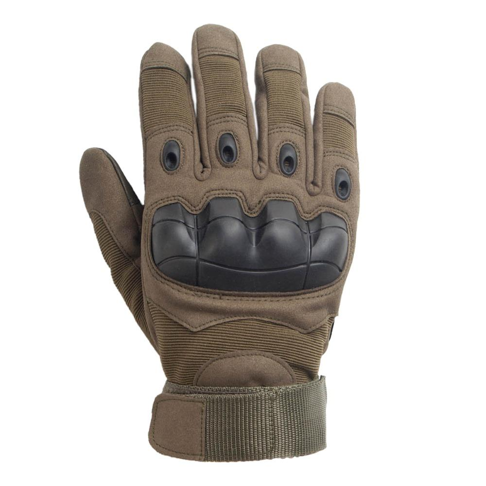 Military GLOVES TACTICAL Shooting Airsoft HARD KNUCKLES ACU BLACK SIZE S,M,L,XL