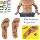 Magnetic Therapy Pressure Point Massage Foot Shoe Insoles