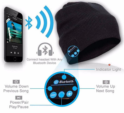 BMax™ Smart Bluetooth Headphones Hat