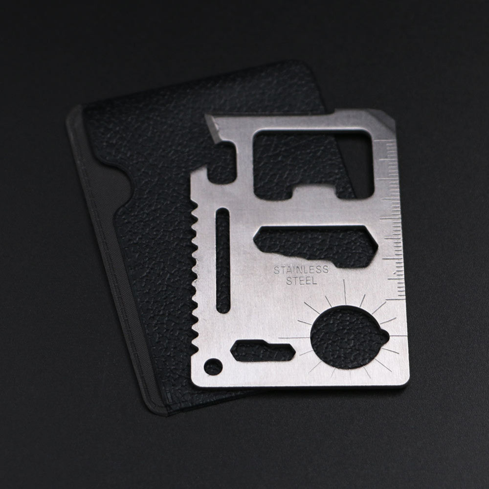 Tactical Survival Credit Card 11 in 1 Pocket Multi Tools