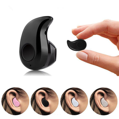 Micro Earphone Bluetooth Cordless Headphone For All Mobile Phones