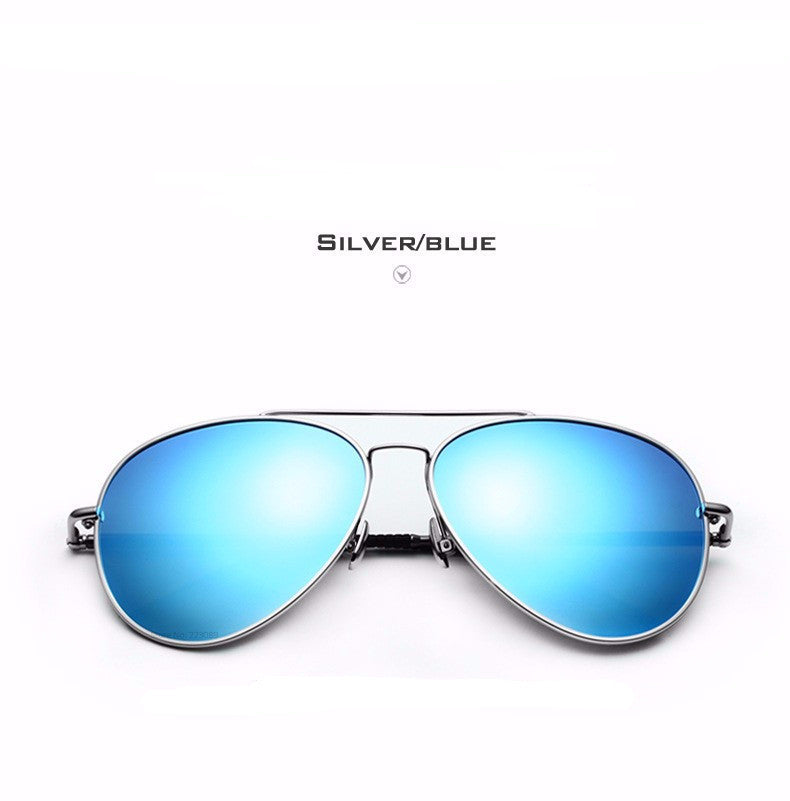 2017 NEW Designer Pilot Polarized Men Sunglasses