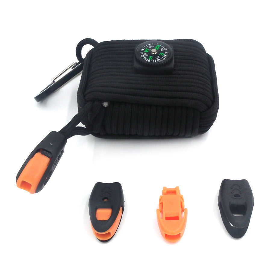 21 in 1 Paracord Tactical Survival Gear Emergency Kit