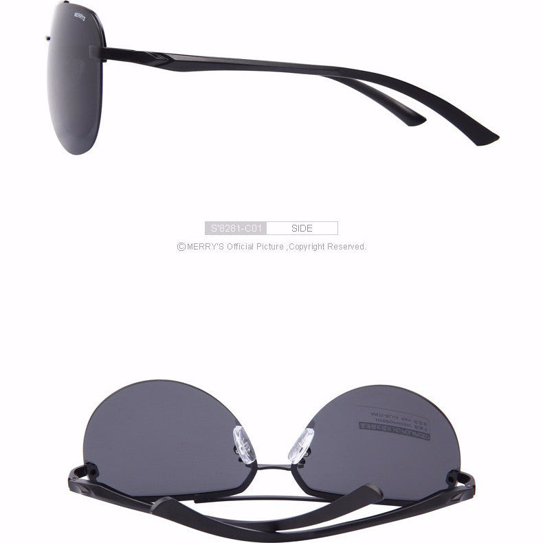 2017 Designer M Pilot 100% HD Polarized Men Sunglasses