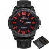 NV8 Hornet™ Canvas Strap Military Sport Watch