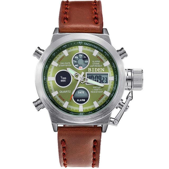 Berta9™ Dual Time Military Sport Watch