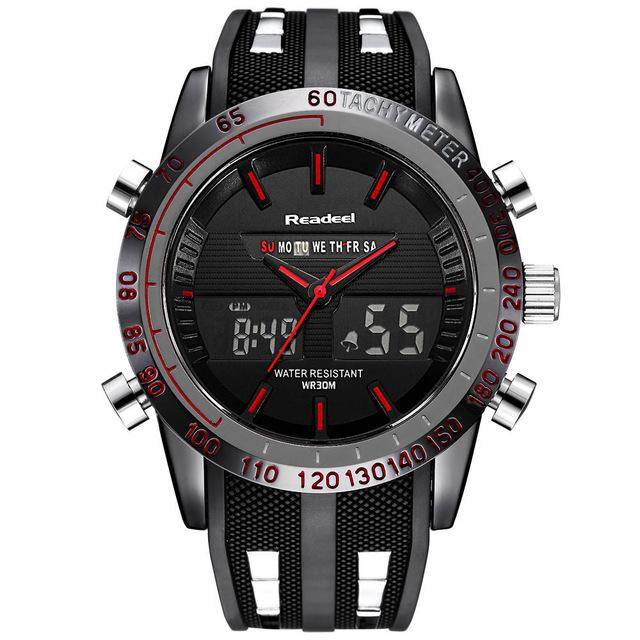 R6 Raptor™ Dual Time Military Sport Watch