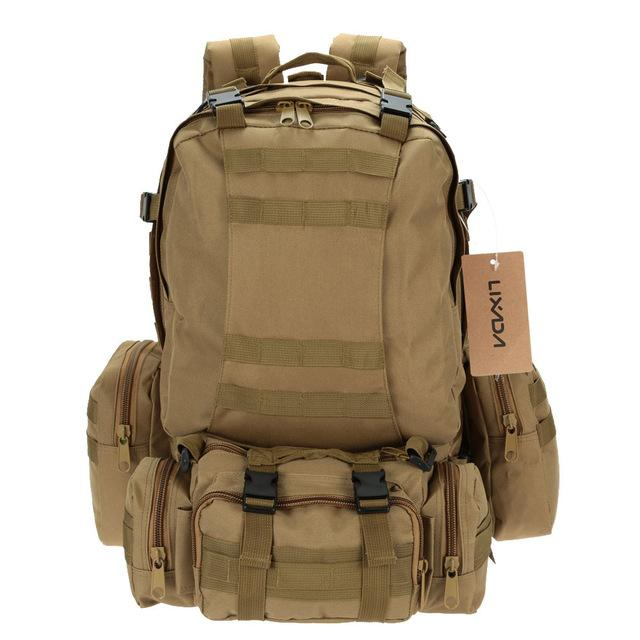 LX5 Molle System 50L Tactical Military Backpack